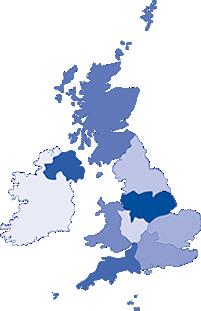 NSA Region Map