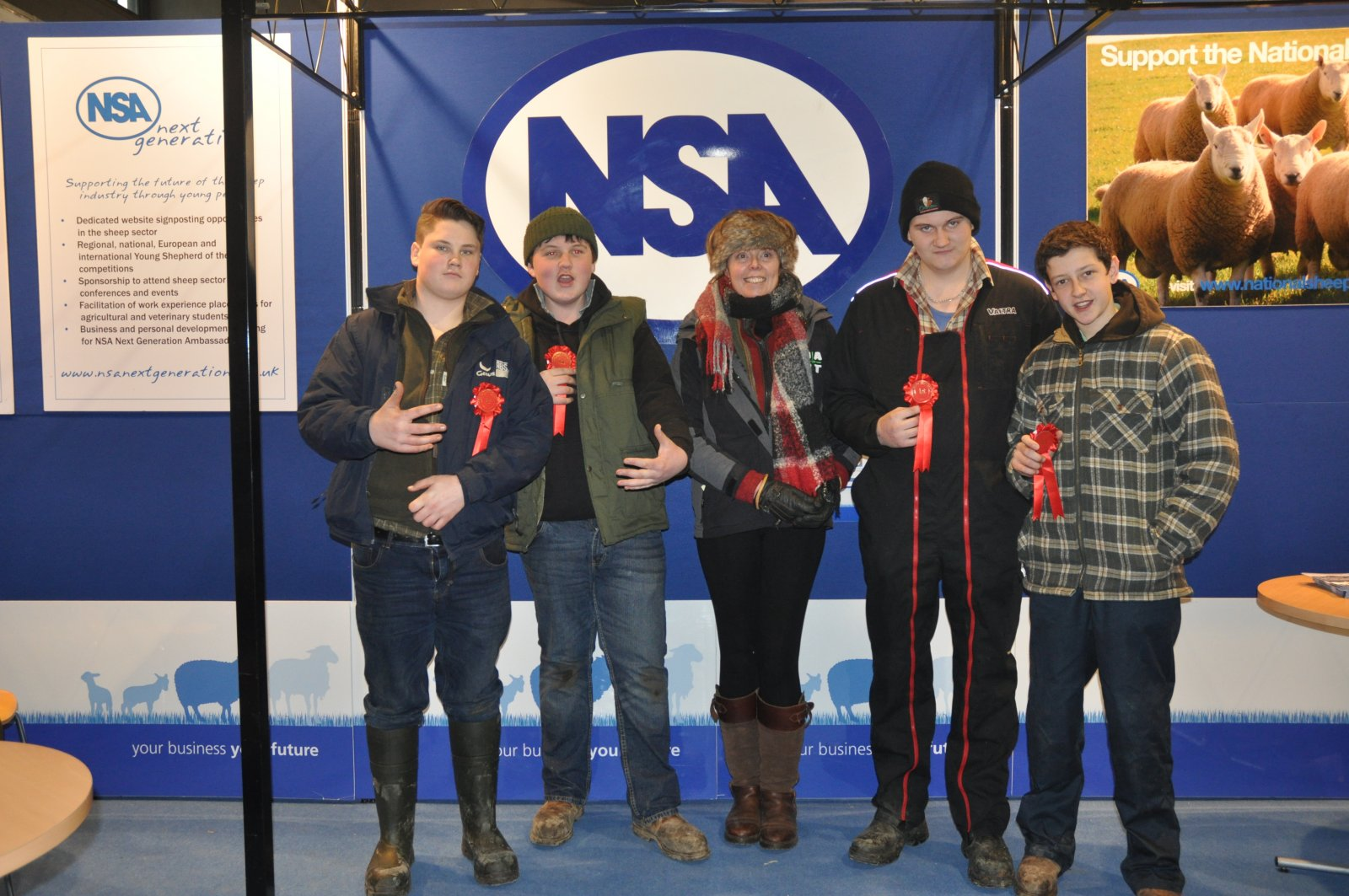 1st inter-schools NSA Next Generation Shepherd Competition, Leek & Buxon (joint team)
