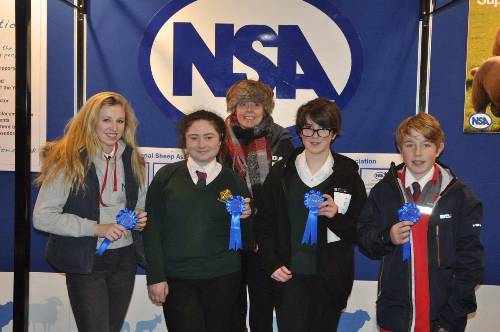 2nd inter-schools NSA Next Generation Shepherd Competition, Abbotsholme School