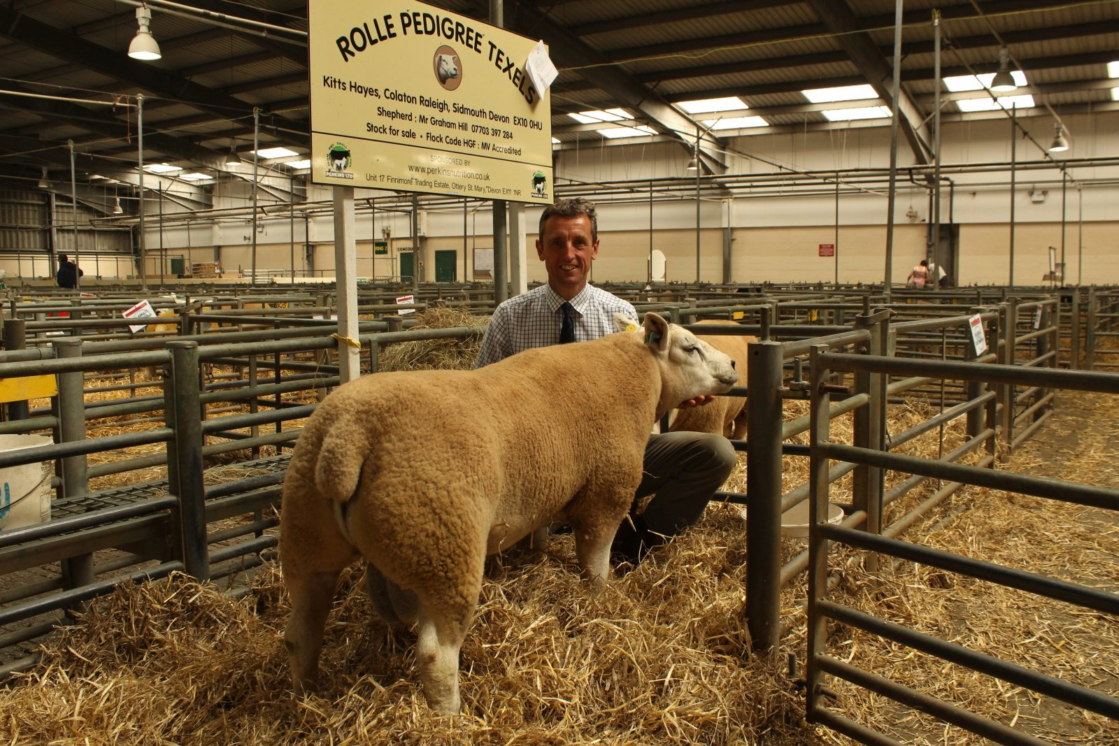 Graham Hill's top priced Texel, which sold for 1,200gns.