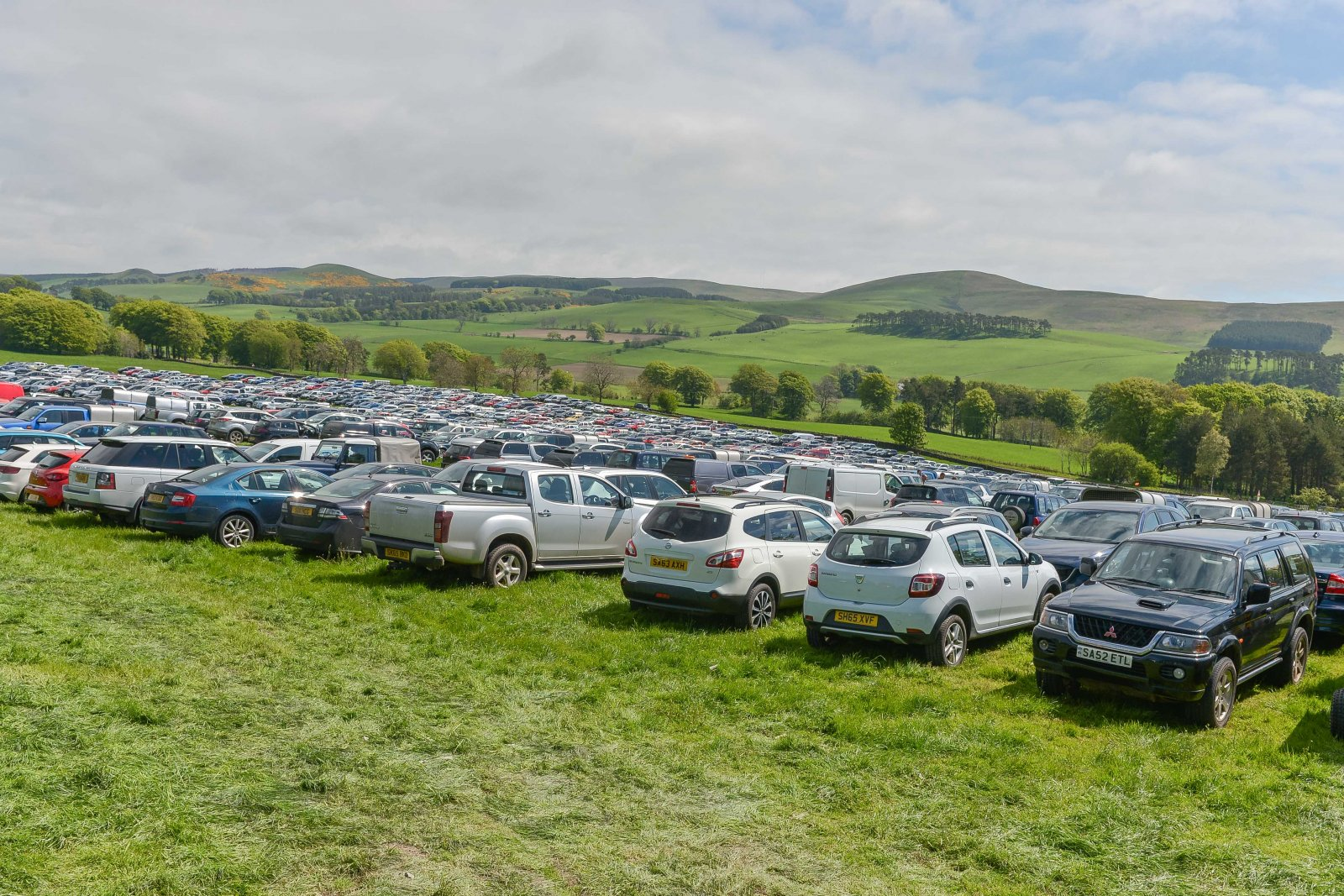 The sunshine attracted several thousand visitors to NSA Scot Sheep 2016.