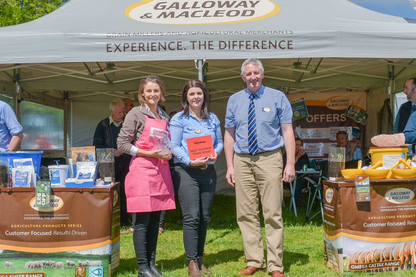 Best Outdoor Trade Stand winner, Galloway & MacLeod.