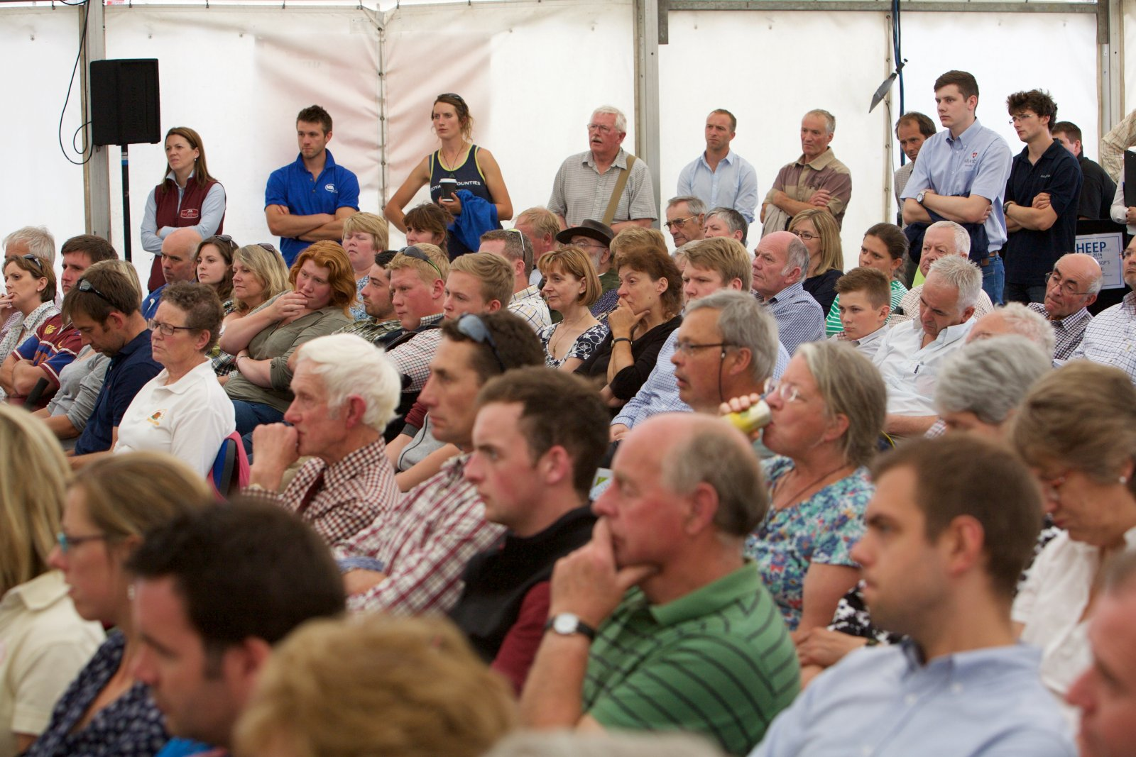 a line-up of interesting speakers and relevant topics ensured the Seminar area was packed during the day