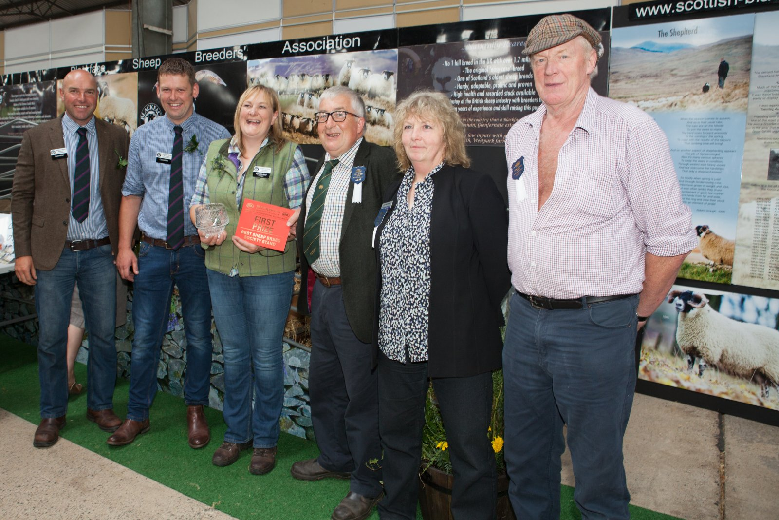 Best Breed Society Stand winners, Blackface Sheep Breeders Association