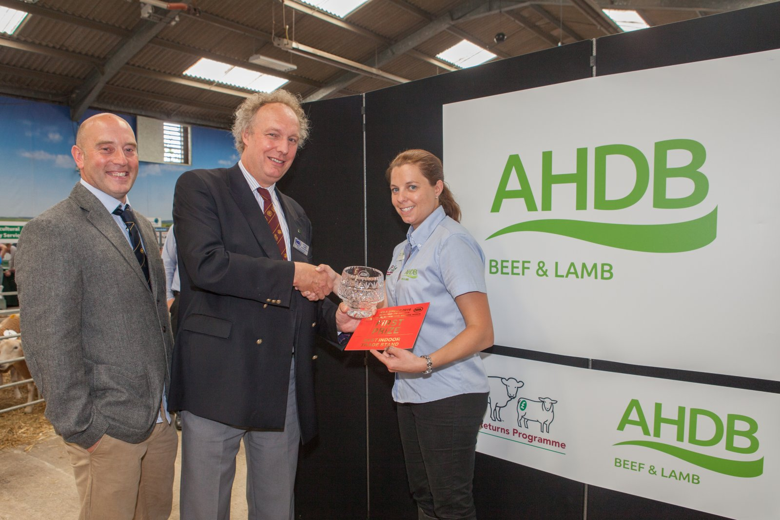 Best Indoor Trade Stand: AHDB Beef & Lamb