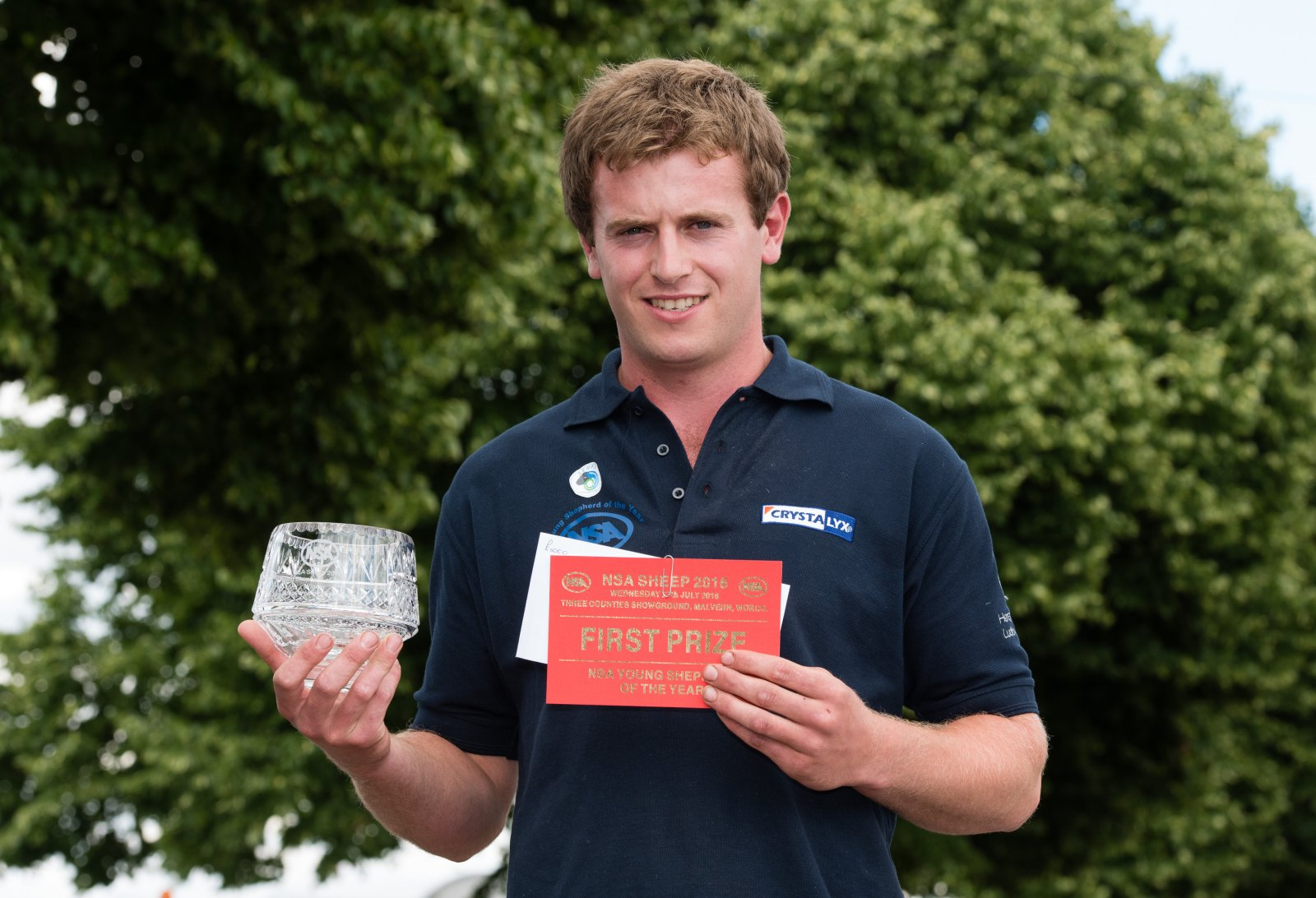 Young Shepherd of the Year winner - Richard Carter of NSA Marches Region